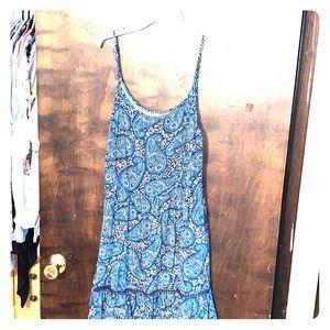 Adjustable strap summer dress